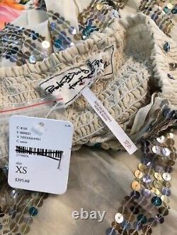 Free People Jens Pirate Booty $395 Prophecy Lapis Maxi Skirt Size XS