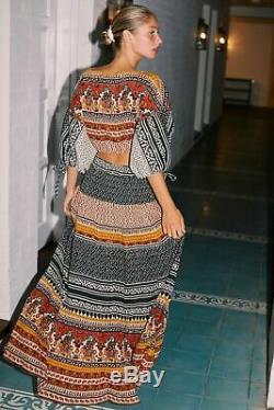 Free People NWT Size Medium Global Skirt Top Boho Set NEW