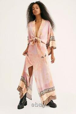 Free People Spell & The Gypsy Collective Cherry Blossom Kimono Skirt Set Size M