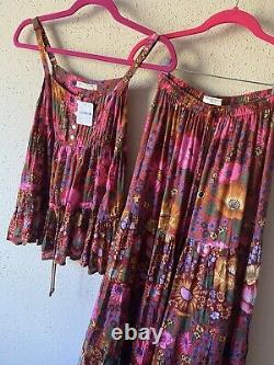 Free people Spell And the Gypsy Collective Desert Daisy Skirt Set Size Xs