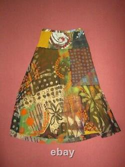 Fuzzi/JEAN PAUL GAULTIER long mesh skirt, size L