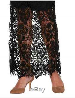 G. I. L. I. Venice Lace Maxi Skirt with Scalloped Hem Size 2 OR 12 A266067 6046