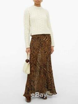 Ganni Maxi Skirt Rrp £150 Eu 38