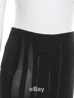 Gorgeous New Black Jean Paul Gaultier Femme Pleated Skirt