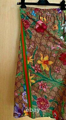 Gucci GG Floral Print Midi Skirt, RRP £870