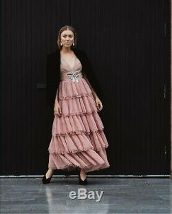 H&m Conscious Exclusive Aw2019 Tulle Skirt Tiered Flared Dress Bloggers Sold Out