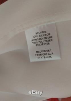 Haute Hippie Silk Floral Swan Multi Side Slit Maxi Skirt XS NWT $585