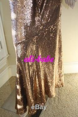 Haute Hippie sequin Mermaid long maxi skirt M NWT