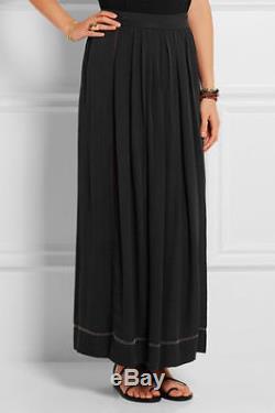 ISABEL MARANT NEW SKIRT Moody Embellished Wrap Maxi Silk Long SIZE M 40 $1280