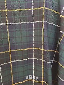 J. Crew Women's Tartan Maxi Skirt, Green Plaid, NWT, 2