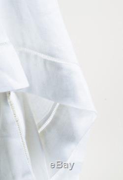 J. W. Anderson NWOT White Asymmetric Handkerchief Maxi Skirt SZ 8
