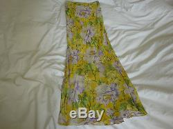 John Galliano Low Waist Skirt Xs Fr. 36 Nwot