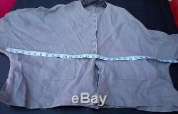 JOYCE RIDINGS LINEN maxi long SKIRT top jacket SUIT lagenlook oversize arty 14