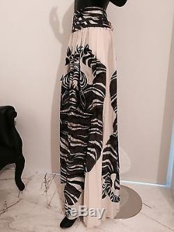 JUST CAVALLI Robert Long Maxi Tribal Skirt Sz38 $1150