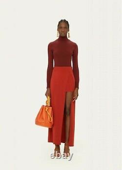 Jacquemus La Jupe Peron Knit Skirt Sz 40 NEW