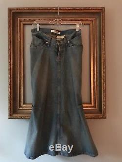 Junya Watanabe Comme des Garcons Denim Skirt (Sz S)