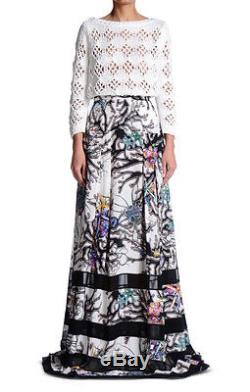 Just Cavalli Women's Multi-Color Maxi Length Skirt US S IT 40