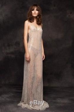 Kalmanovich Women's Nude Revolver Maxi Dress Size 2 d1