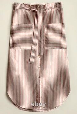 Kloke striped skirt, size medium, worn once, from current collection