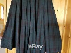 Ladies Free People CP Shades Lily Cotton Maxi Skirt Sold Out Teal Maroon L NWT