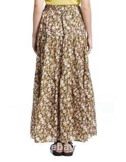 Lee Mathews Ariel Vintage Floral Maxi Skirt 0