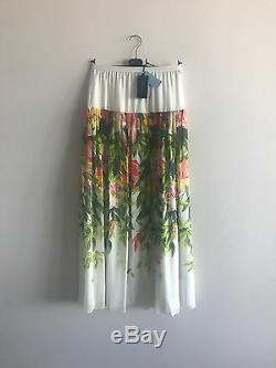Long skirt Blumarine brand new with tags, 100%silk, size S, M