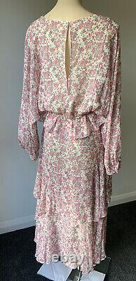 Loveshackfancy Floral Maxi Skirt + Top Set/ Dress Size L