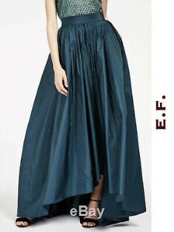 MAX MARA Long Skirt 10USA 44IT 12GB PALOMBA Elegante Blend Silk in Petroil
