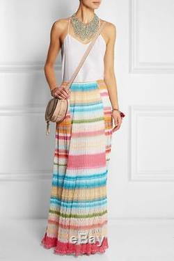 MISSONI maxi skirt SS2015 SIZE 40 RP 900 USD