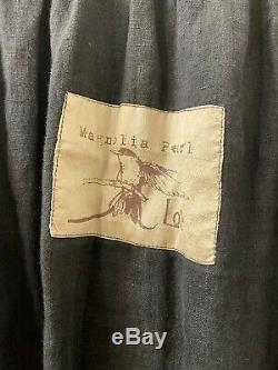 Magnolia pearl Black Grey Midi Skirt One Size