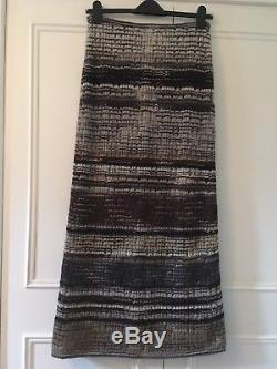 Missoni Long Wool Maxi Stretch Straight Skirt IT 46 Uk 14