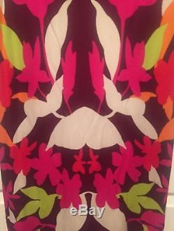 Missoni Orange Label Printed Maxi Skirt Size 42