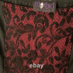 Morbid threads maxi skirt
