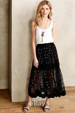 NEW Anthropologie Starswept Maxi Skirt by Twelfth Street by Cynthia Vincent $325
