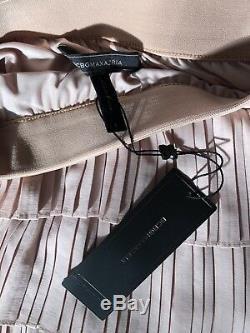 NEW BCBG MAXAZRIA Janna Combination Pleated Maxi Long Skirt Sz S Small $398