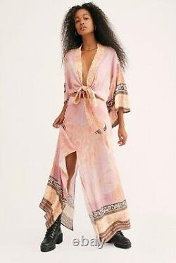 NEW SPELL & THE GYPSY COLLECTIVE Sz L CHERRY BLOSSOM MAXI SKIRT