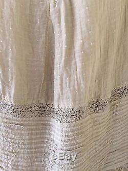 NEW one size fits all MAGNOLIA PEARL Silk cotton Maxi gypsy skirt long prairie
