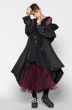 NWOT Luukaa Lexa Mesh Tulle long artsy skirt Sz US 6 Art to Wear Lagenlook