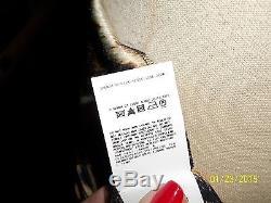 NWOT, Roberto Cavalli Silk Leopard Print, Maxi Skirt/ Strapless Dress Size 40