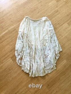 NWOT Spell & the Gypsy Rhiannon Lace Skirt Ivory