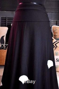 NWT 2XL Lularoe Maxi Mermaid Dipped Ombre Scales Black Blue Shells Skirt Dress