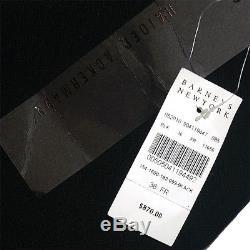 NWT $870 Haider Ackermann Black Howl Back Slit Detail Pencil Skirt Sz 36