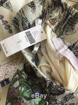 NWT Anthropologie Stemswept Maxi Skirt by Kavita Bhartia Sizes $178 SOLD OUT