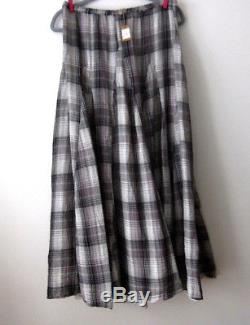 NWT CP SHADES DOUBLE COTTON LILY MAXI SKIRT RETAIL $226 Sz. LARGE