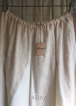 NWT CP Shades/Free People Lily Linen And Silk Paneled Maxi Skirt, Large