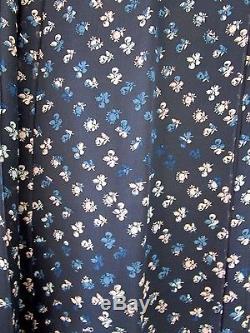 NWT Diane von Furstenberg Bethune Daisy Buds Silk Wrap Maxi Skirt 6 $548