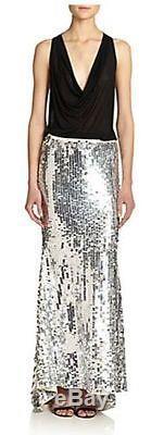 NWT Haute Hippie Paillette Maxi Skirt Evening Party $995.00 Size S