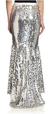 NWT Haute Hippie Sequin Paillette Maxi Skirt Evening Party $995.00 Size S