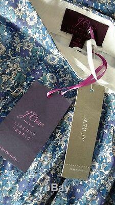 NWT JCrew Tie Waist Skirt Liberty sz14 Delilah Cavendish Lawn Tana Floral G6951
