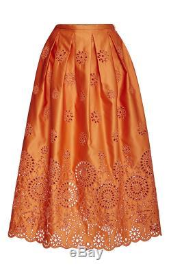 NWT Rochas Ballerina Eyelet Skirt 42/6